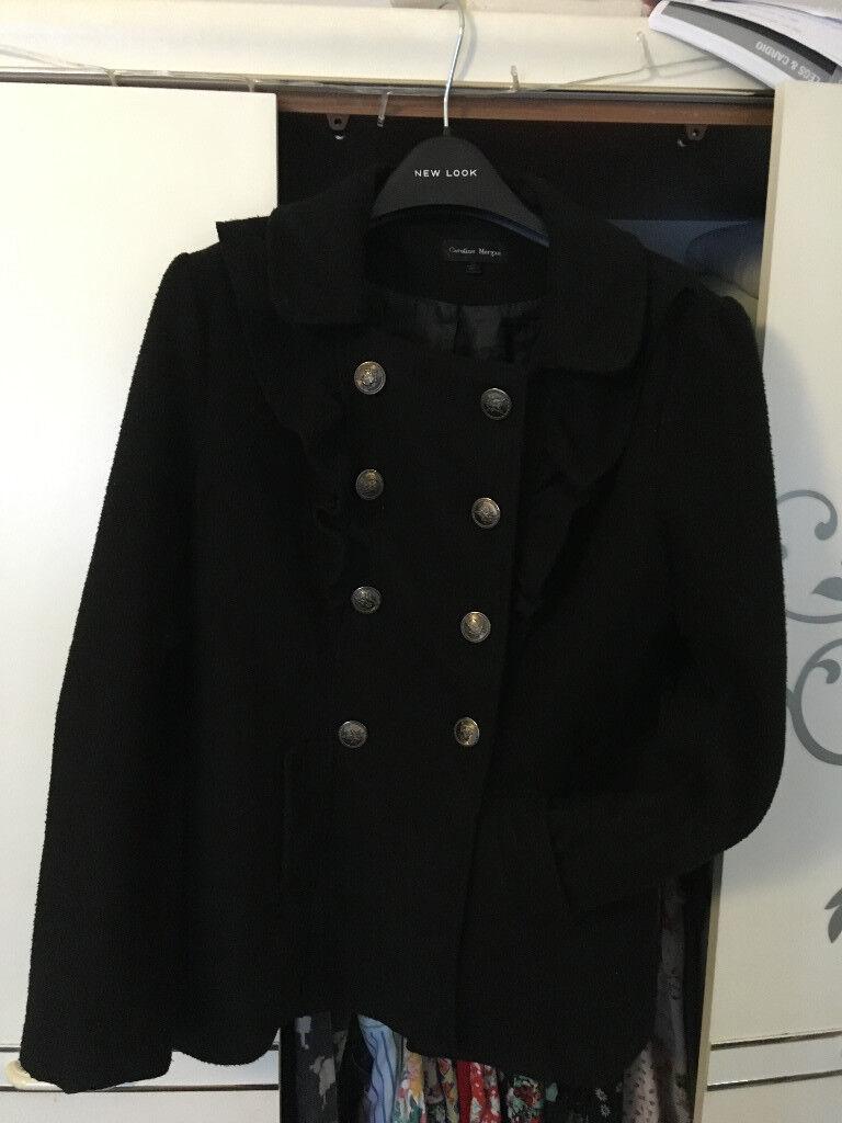 Black XL Caroline Morgan Coat