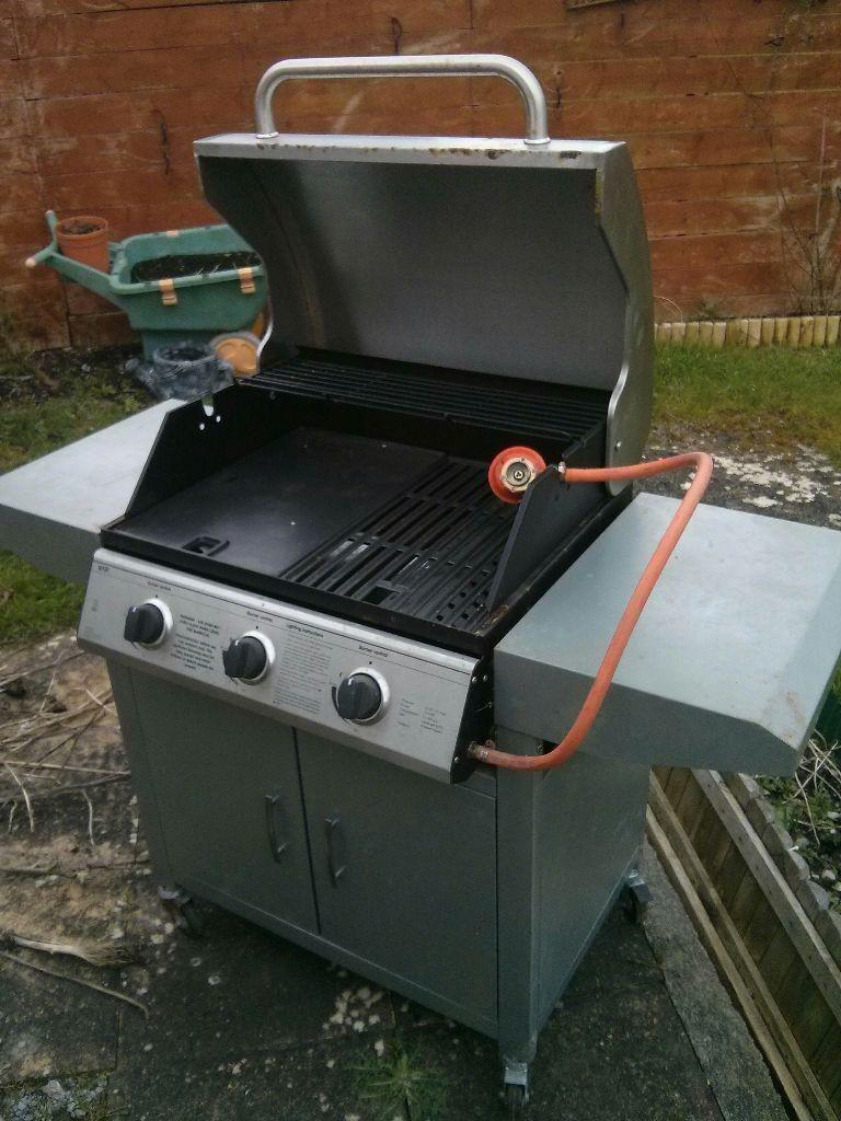 original landmann 12739 3 burner gas wagon barbecue bbq in plymouth devon gumtree. Black Bedroom Furniture Sets. Home Design Ideas