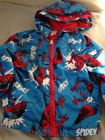 Spider-Man coat 2-3 years