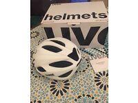 Brand new white bike helmet small/medium