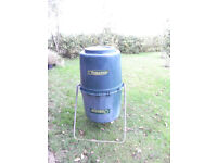 'Tumbleweed' composter, 220l capacity, 1.2m overall height. 50cm diameter