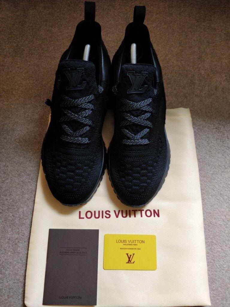 1903fe497b9 *Mens Louis Vuitton VNR Sneaker Black Metallic RARE UK8.5 Freepost*   in  Enfield, London   Gumtree