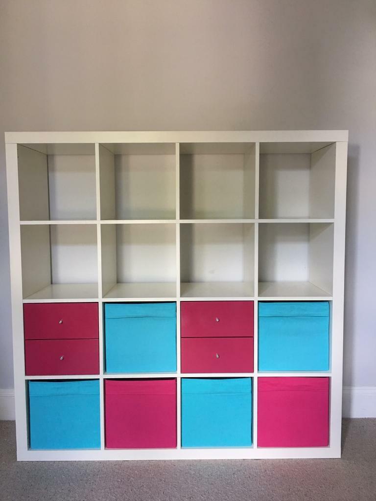 detailed look 4dd6a e1450 Ikea Expedit/Kallax 4x4 cube shelf H149cmxW149cmxD39cm | in West Ealing,  London | Gumtree
