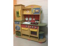Little Tikes Premium Wooden Kitchen - Brand New and ready assembled!