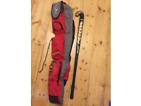"Mercian Girls/Ladies Hockey Stick 37"" Glassfibre PLUS Carry Bag"