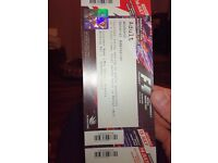 Formula 1 Silverstone weekend ticket general admission