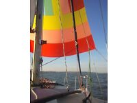 SAILING - You don't need your own boat to join Hoo Ness Yacht Club
