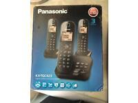 Set of 3 Panasonic kx-tgc423