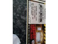 Leeds festival tickets full weekend 2 x tickets full weekend includes camping