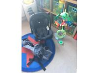 Car seat, baby carrier and cot mobile