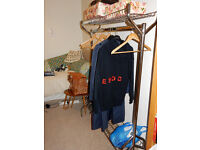 Deluxe Portable Clothes Rail 122cm x 157cm x 50cm WxHxD