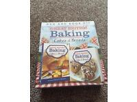 Great British baking cakes and bread DVD and book - brand new