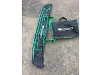 Keenets holdall and net bag,