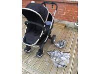 Icandy Peach 3 double pushchair