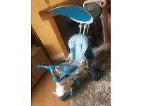 BOYS BLUE SMART TRIKE IMMACULATE CONDITION