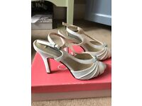Bridal / wedding shoes size 3