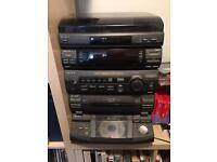 Sony LBT-xB60 hifi with turntable