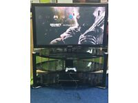 Samsung 42inch plasma tv with stand and PS3