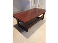 JARRAH HARD WOOD COFFEE TABLE - not cheap wood - £70.00