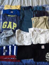 15 piece bundle of boys clothes age 6-8yrs