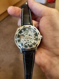 Men's wrist watch mechanical