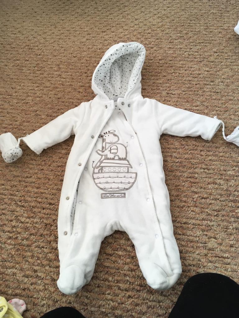 New born snowsuit