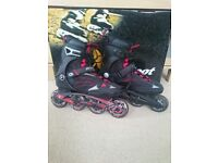 K2 F.I.T 80 Fitness Inline Skates- Excellent condition