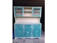 Shabby chic vintage dresser sideboard cabinet Annie Sloan