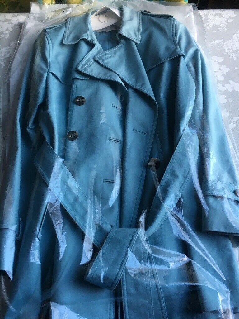 distinctive style quality first super popular Hobbs Trench Coat in Duck Egg Blue | in Inverurie, Aberdeenshire | Gumtree