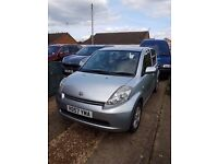 DAIHATSU SIRION 57 Plate - Long MOT, Low Mileage, Silver, Small car