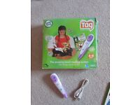 For Sale: Leapfrog Tag Reading System (Purple) & 9 Books