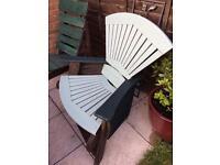 Bespoke garden chairs