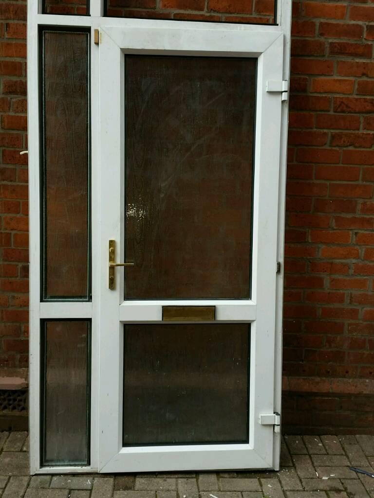 Upvc Double Glazed Door And Frame In Dundonald Belfast Gumtree