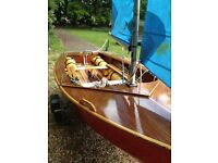 Enterprise sailing dinghy