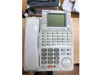 7 OFFICE PHONES MODERN PANASONIC GOOD CONDITION WORKING