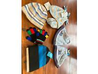 Babies boys kids hat gloves bundle brand new