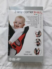 Baby carrier and walker