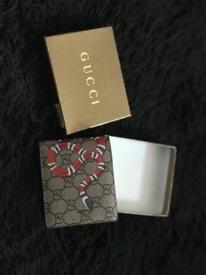 Gucci Ace Snake Embroidered Wallet WAKEFIELD LEEDS DEWSBURY BRADFORD LV FENDI VERSACE WALLET