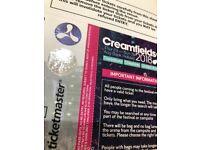 4 day standard camping creamfields ticket