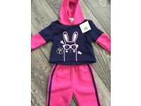 Baby girl brand new tracksuit