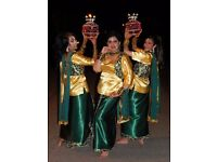 Female Dance Group Classes in Bollywood Bhangra Giddha
