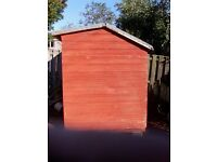 timber garden shed 7x5 feet £100 pick up or delivery £20 in fife