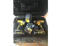 Dewalt impact driver and drill set