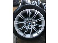 BMW E60 MV2 135 MSport wheels, set of 4, genuine!