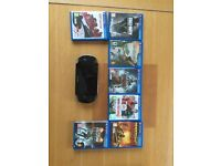 Sony Playstation Vita complete with charger and with 7 games