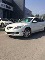 2011 Mazda MAZDA6 GS SUNROOF LEATHER PEARL WHITE ONE OWNER!