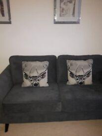 2 stag head cushion