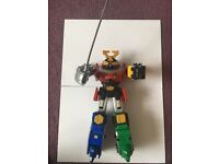 Power rangers samurai figures and megazord