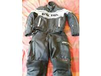 motorcycle jacket & trousers