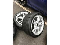 "18"" GENUINE PORSCHE WHEELS & WINTER TYRES 5X130"